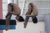 Latihan Atlet Loncat Indah Sumsel Jelang PON Papua