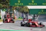 Formula 1 : Pebalap Ferrari Leclerc akan start dari posisi paling belakang di GP Rusia