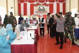 Kapolri Jenderal Listyo Sigit optimis target vaksinasi dua juta per hari tercapai