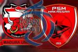 PSM Makassar ditahan imbang Madura United 1-1