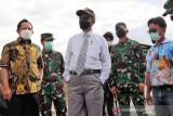 Pangdam XVII/Cenderawasih dampingi kunjungan kerja Menko Polhukam di Jayapura