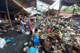Tim Inafis lanjutkan olah TKP kebakaran Pasar Bawah Bukittinggi