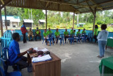 Personel TNI Biak hadiri sosialisasi bakau di Kampung Impendi