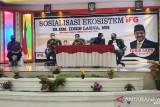 Jasa Raharja hadiri kegiatan bersama Anggota Holding BUMN IFG