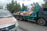 Bantuan masyarakat Tabalong untuk korban banjir Katingan sempat terkendala