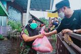 Banjir mulai melanda Palangka Raya