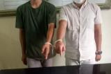 Hendak mengganja, dua pelaku warga Pasaman ini ditangkap polisi di Agam