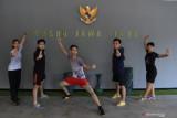 PON Papua-Tim wushu Jatim targetkan lima medali emas di PON Papua