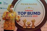 Bupati Kobar kesekian kali raih Penghargaan Top Pembina BUMD Award