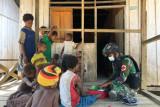 Satgas TNI layani pengobatan warga di perbatasan RI-PNG
