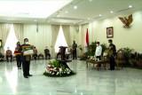 Gubernur Lampung terima penghargaan peringkat pertama produksi padi nasional