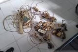 Lapas Padang razia puluhan kabel untuk pastikan keamanan listrik