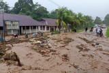 BPBD Papua masih mendata kerugian material akibat banjir di Serui Yapen