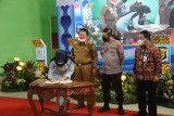 PT Jasa Raharja tanda tangani MoU aplikasi e-Samdes di Provinsi Lampung