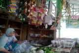 Pasar Argosari Wonosari Gunung Kidul mulai dipadati pembeli