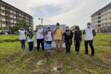 Dirjen Perumahan Kementerian PUPR tanam pohon di Kampus Itera