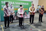 Wapres Ma'ruf Amin tinjau Sentra Vaksinasi Sinergi Sehat Jakarta