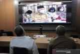 Rapat ini diikuti Wako Solok secara virtual