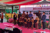 Gubernur apresiasi vaksinasi yang digelar Polres Loteng bersama KAHMI