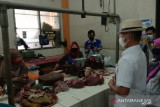 Pengelola Pasar Argosari mengharapkan DLH Gunung Kidul mencarikan solusi sampah