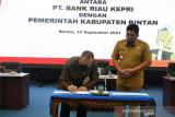 Pemkab Bintan kerjasama layanan perbankan dengan Bank Riau Kepri