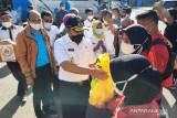 Wakil gubernur Sumatera barat lepas kontingen pertama berangkat ke Papua