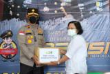 Wakapolda Kaltara Tinjau Pelaksanaan Vaksinasi Massal dan Bakti Sosial Polda Kalimantan Utara