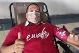 Yayasan Hadji Kalla penuhi 292 kantong darah untuk stok PMI