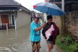 BPBD Lebak : menyebutkan Kerugian akibat banjir Rp4, 8 miliar