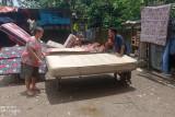 Banjir di lima kecamatan di Kabupaten Lebak mulai surut