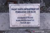Ribuan warga Bantul nikmati manfaat padat karya infrastruktur