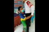 Ini video narapidana Rutan Praya takut jarum suntik vaksin