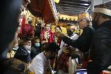 Bupati ajak Raja Mamuju Sulbar bersinergi lestarikan nilai luhur budaya