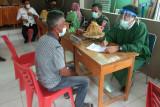 Serbuan vaksinasi COVID-19 Kodim Polewali Mandar sasar pedesaan