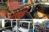 Rem blong, lima kendaraan tabrakan beruntun di Jalan Raya Loteng