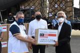 Malaysia sumbang peralatan dan obat-obatan COVID-19 kepada Indonesia