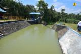 Kementerian PUPR tingkatkan Sistem Irigasi Way Tebu system yang berada di kabupaten pringsewu dan kabupaten tanggamus provinsi lampung