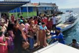Polairud Labuan Bajo evakuasi ibu hamil dari Pulau Messah