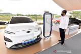 Luhut sebut butuh 35 miliar dolar bangun  ekosistem kendaraan listrik