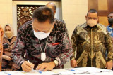 Gubernur Olly dan lima provinsi teken kerja sama sektor kelautan dan perikanan