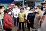 Mensos Risma tinjau wilayah terdampak banjir di Palangka Raya
