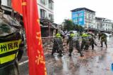Tiga tewas akibat gempa di Sichuan  China, ribuan dievakuasi