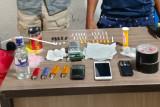 Polisi tangkap dua pengedar narkotika jenis sabu di Holtekam, Jayapura
