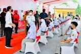 Pelajar ungkap kegembiraan bisa PTM saat berdialog dengan Presiden Jokowi