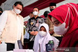 Airlangga sebut pemerintah terus upayakan akselerasi vaksinasi