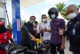 Pertamina Patra Niaga resmikan SPBU BBM Satu Harga di Muba
