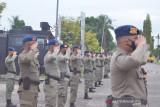 101 personel Brimob Gorontalo bantu pengamanan PON XX Papua
