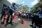 Simulasi pemadaman api di lapas