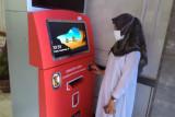 Untuk mudahkan pelayanan ke warga, Disdukcapil Solok sediakan mesin ini di taman kota