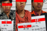 Polisi tangkap tiga pelaku narkoba, seorang diantaranya diserahkan warga Ampek Koto Agam